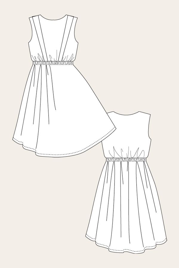 Leini Dress - Named Clothing | sewing clothes PATTERNS | Pinterest ...