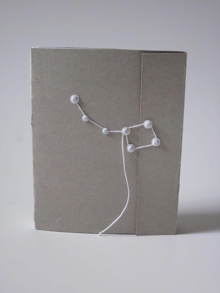 Handbound Notebook/Sketchbook - Longstitch Binding   Constellation ...