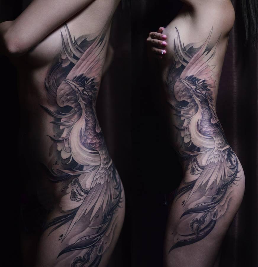 Chronic Ink Tattoos Toronto Tattoo Shop: Toronto Tattoo Phoenix Tattoo In