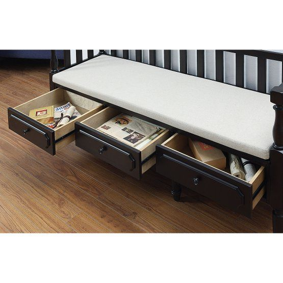Furniture of America Lawrence Traditional Indoor Storage Bench ...