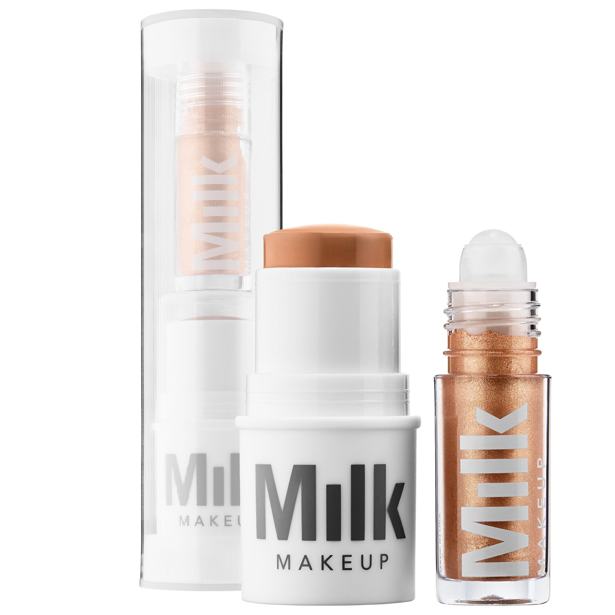 Shop Milk Makeup's Matte Bronzer + Liquid Strobe Set at