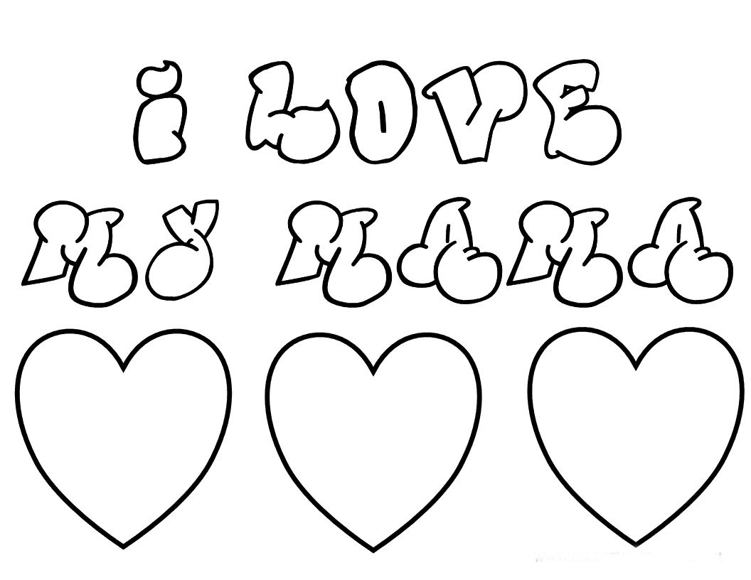 Coloring pages for mom and dad - Explore Mothers Day Coloring Pages And More