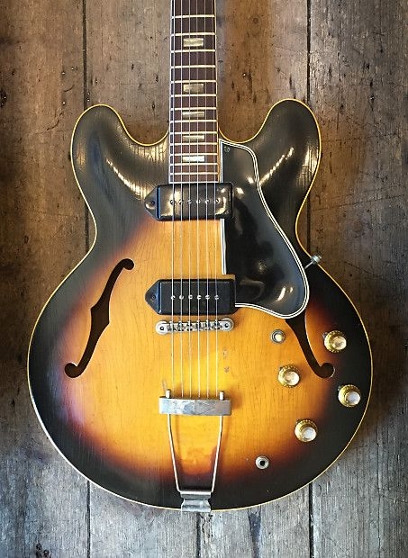 Gibson ES-330 TD Sunburst 1962 | Gear in 2019 | Gibson