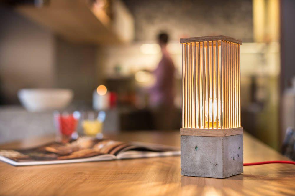 Lampe  poser Twig par l atelier Maziné