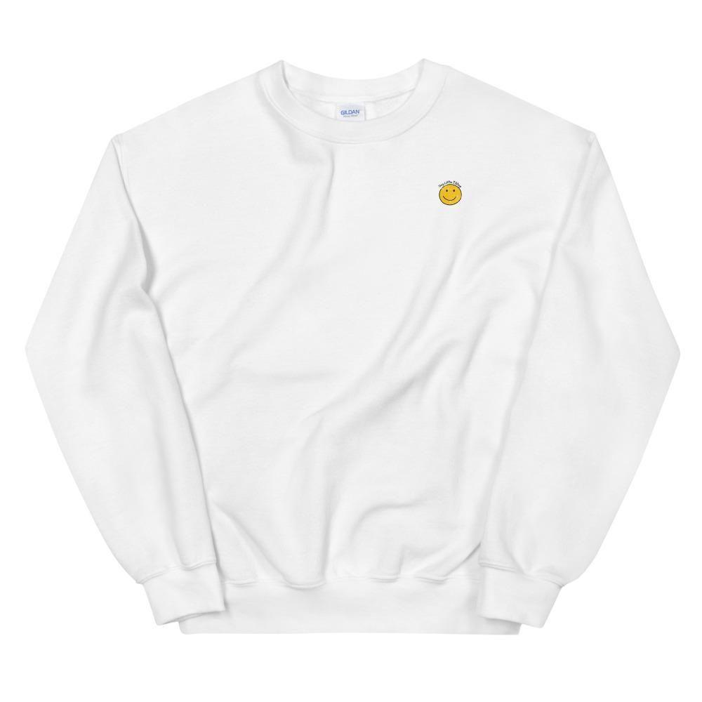 Be A Kind Human Sweatshirt – White / L