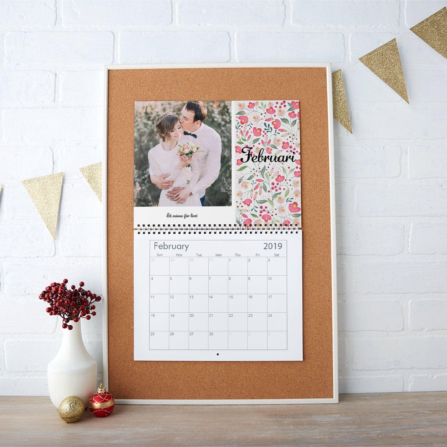 Custom 2016 Wall Calendars Custom Calendar Personalised Photo