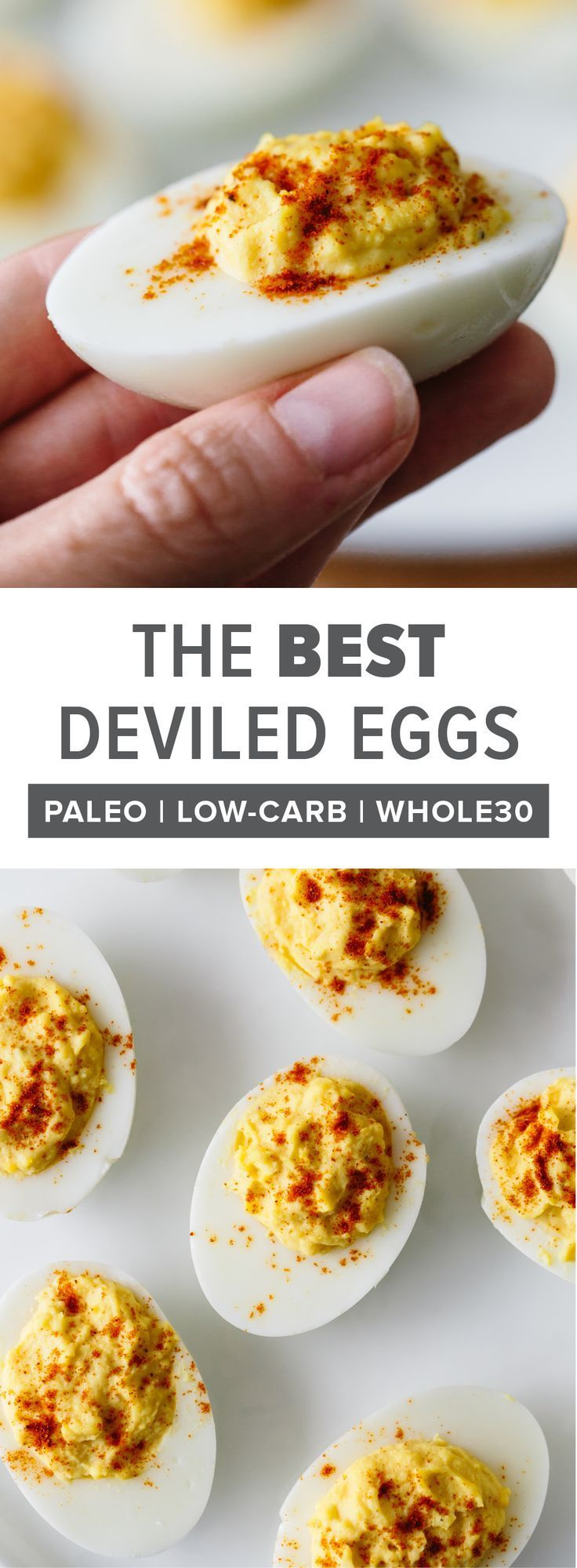 BEST Deviled Eggs Recipe - How to Make Deviled Eggs | Downshiftology
