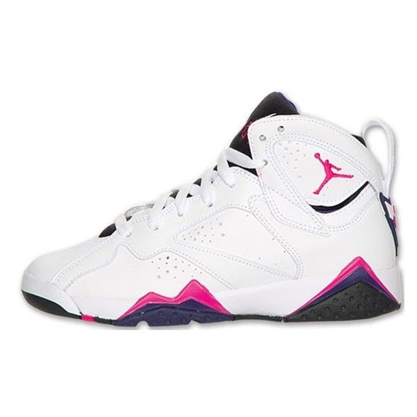 new products 57115 bc609 italy air jordan retro 7 pink blue a874c a2706