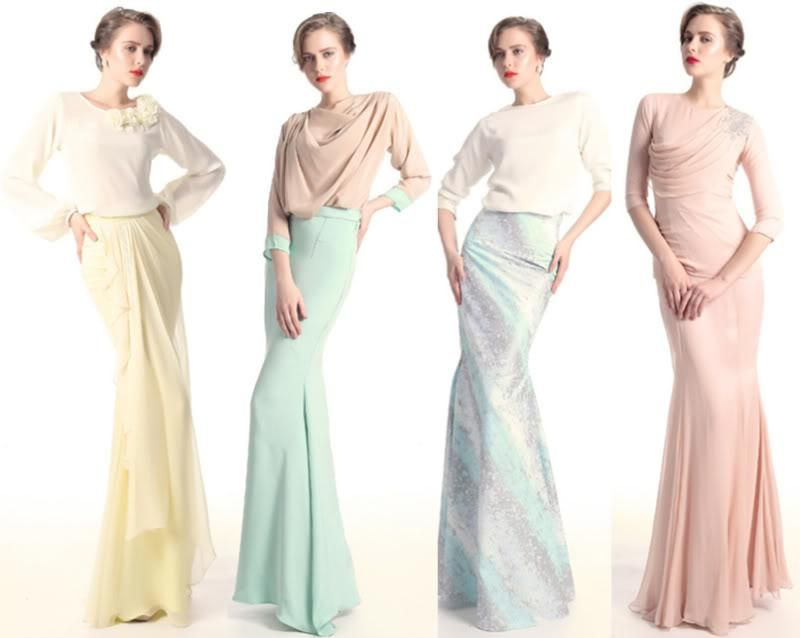 Baju Pengapit Wedding Inspiration Dresses Muslimah Wedding