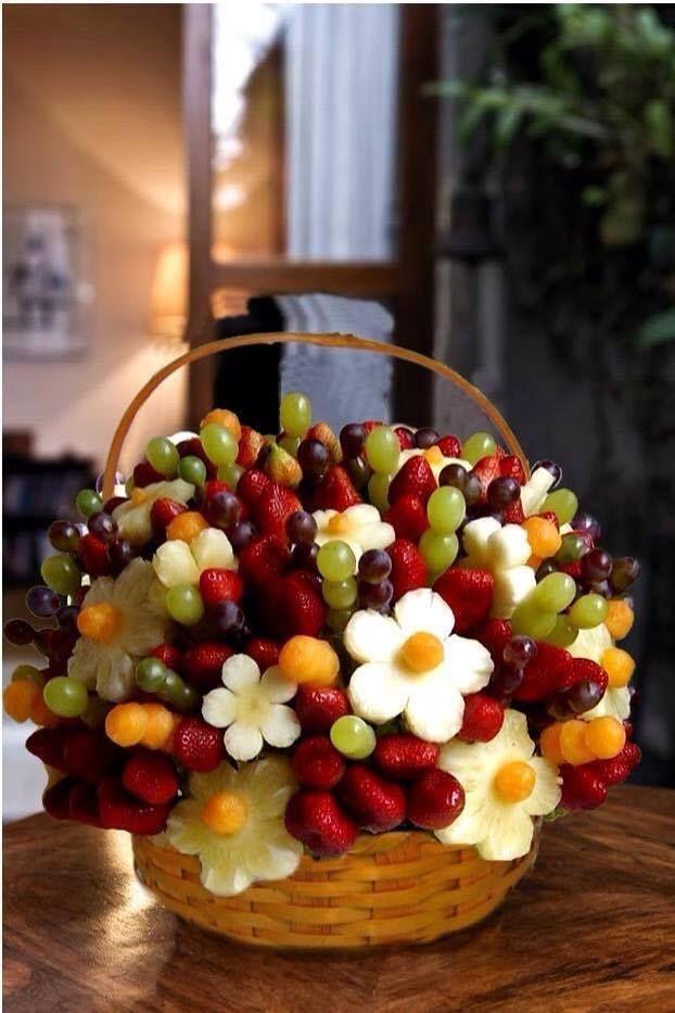 سلة فواكه   Photos & Photos   Pinterest   Fruit arrangements, Food ...