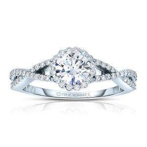 Halo Engagement Rings - True Romance