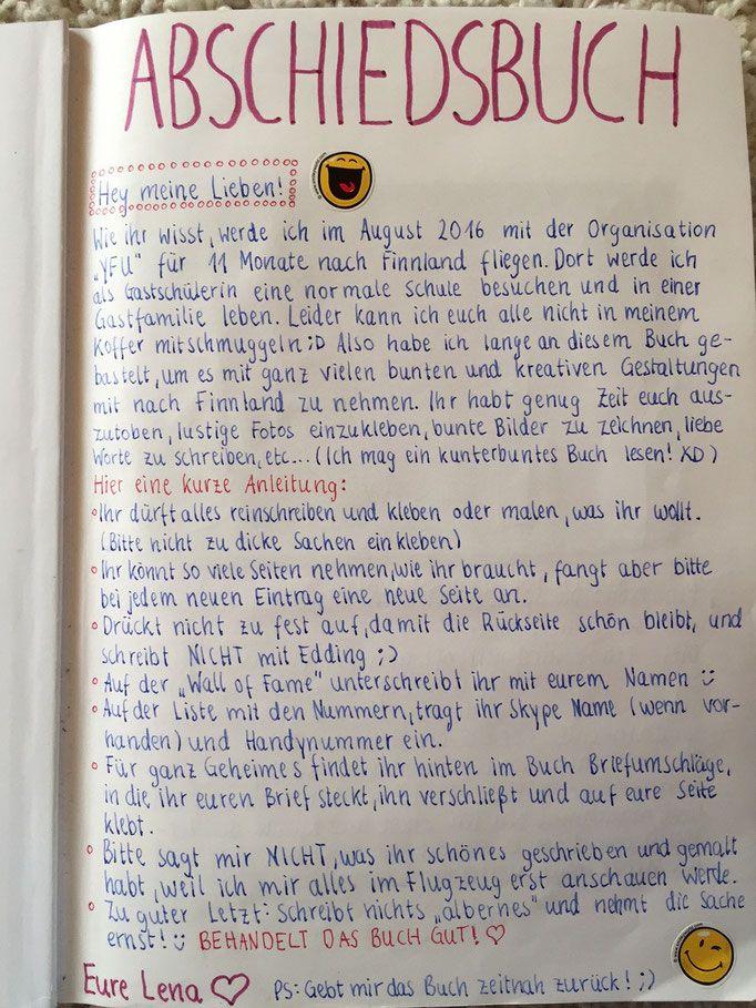 Abschiedsbuch Text #textefürweihnachtskarten