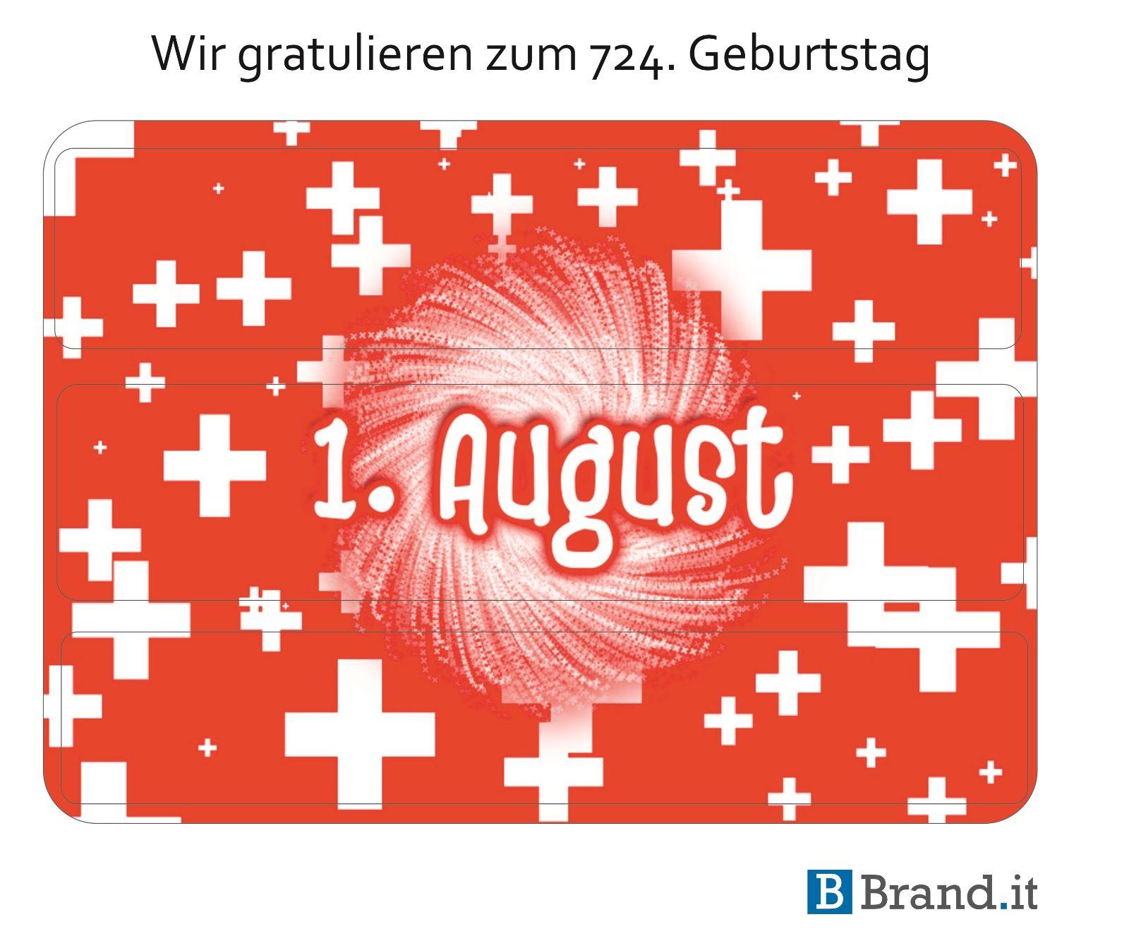Wir gratulieren allen Schweizern recht herzlich zum 724. Geburtstag #schweiz #bundesfeier #nationalfeiertag