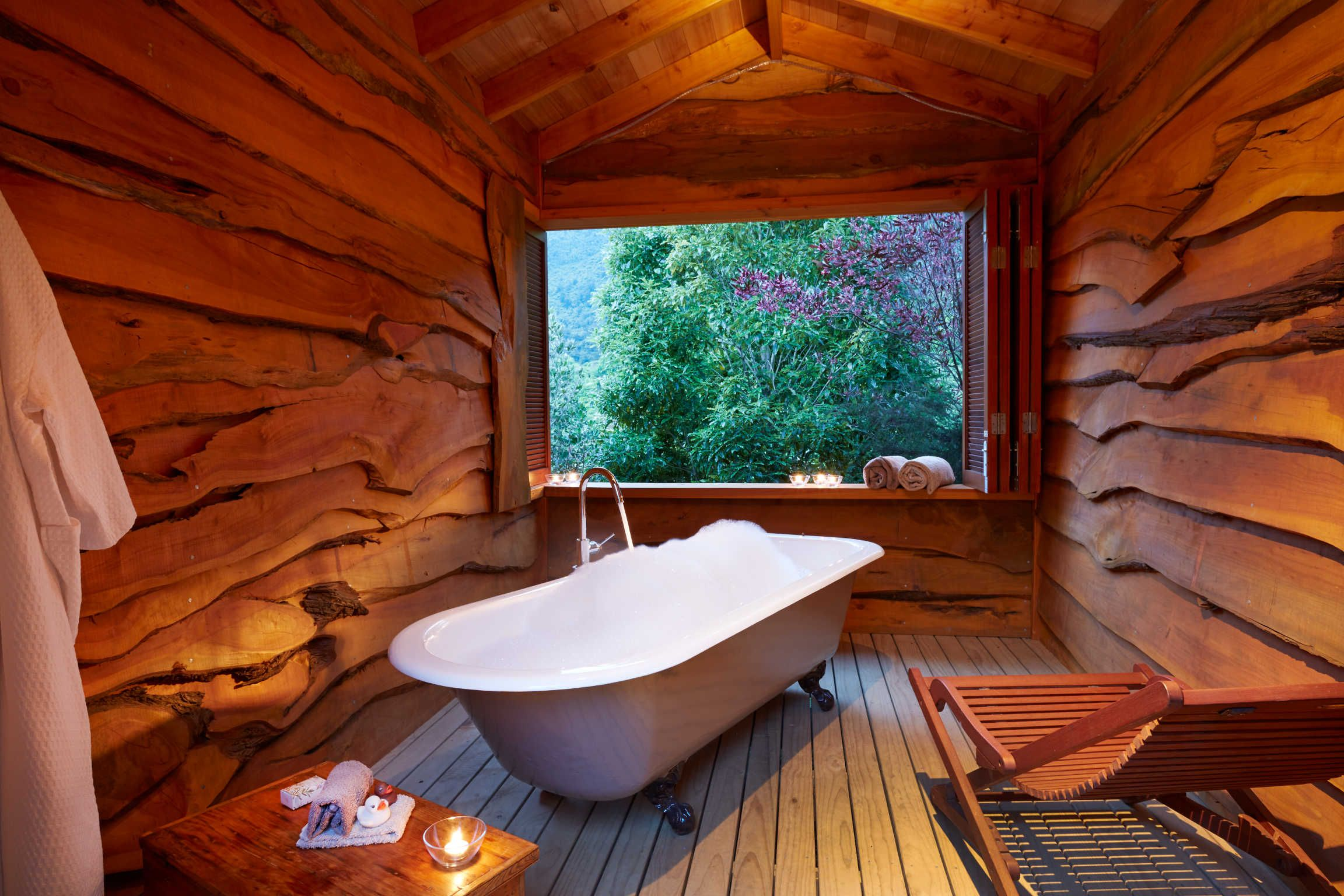 The Resurgence, World's 25 best Eco-Lodges, National Geographic Traveler 2013. The Resurgence is set in 50 acres of tranquil wilderness with 5km of bush tracks.