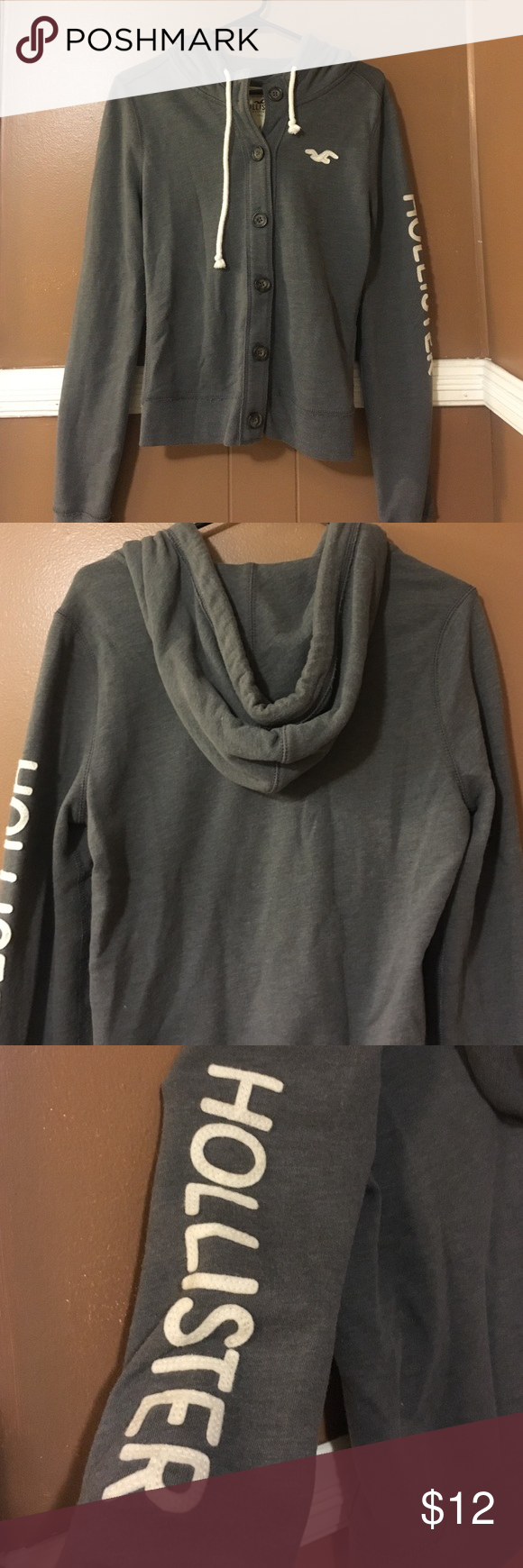 Hollister hooded sweater | Hooded sweater, Customer support and ...