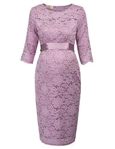 Grace Karin Pregnancy Womens Knee Length Lace Bodycon Wed