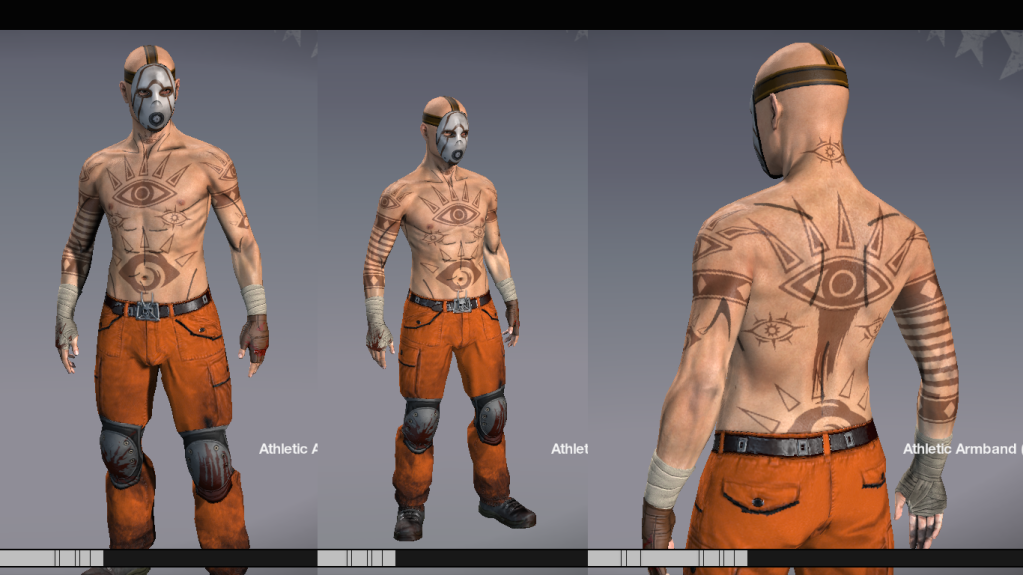 Borderlands 2: Psycho Tattoo reference photos   cosplay
