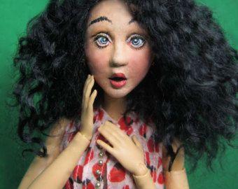 Serena 6 OOAK Doll Only. by WildflowerDolls on Etsy