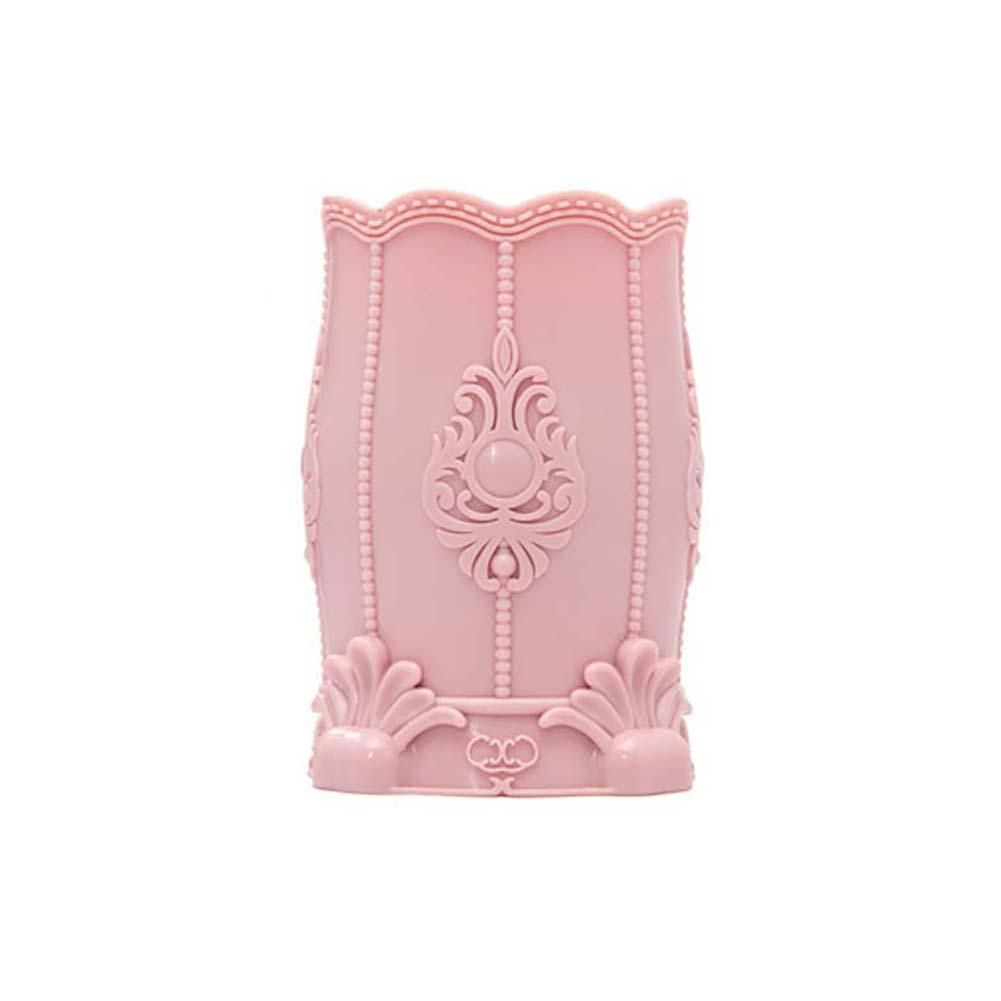 Photo of Make Up Brush Holder Cosmetic Storage Box Pen Organizer Flower Case Container – 351 / Pink