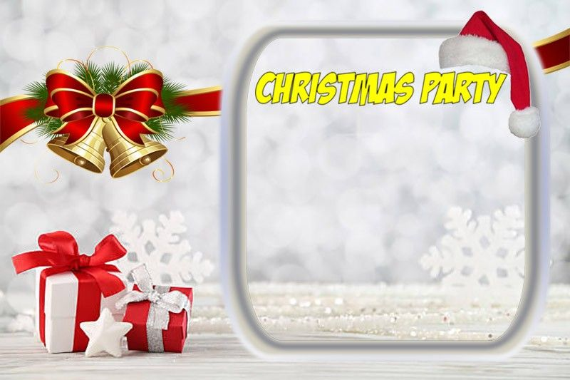 Printable Christmas Invitation Template - 11 Free Christmas