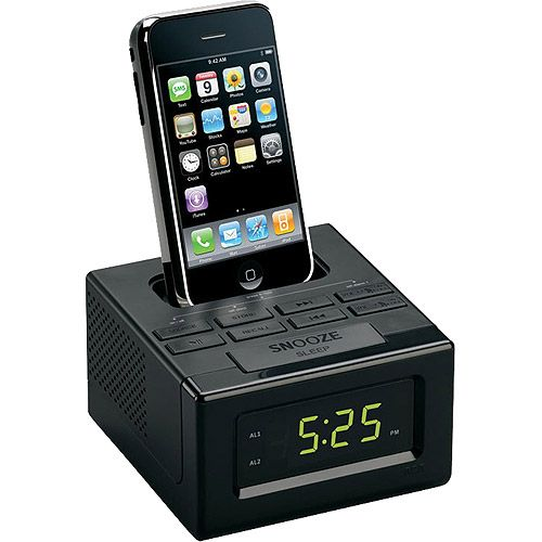 RCA Alarm Clock Docking Station for iPod iPhone $31 59