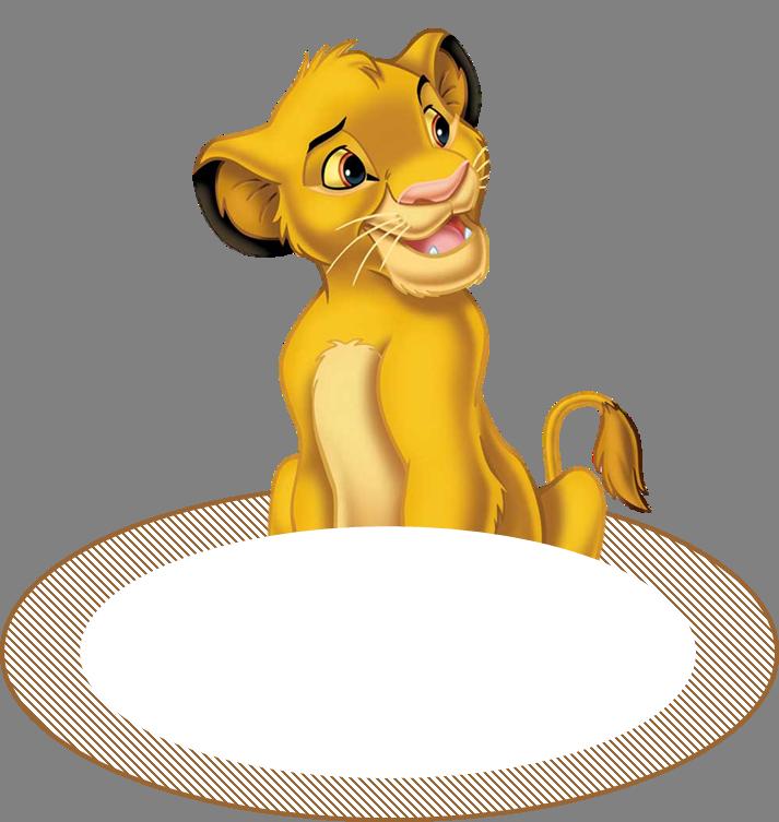 marque place | roi lion déco baptème | Pinterest | Lion king party ...