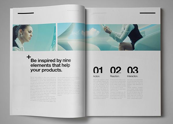 suisse design marketing brochure  u2013 16 pagesminimal and
