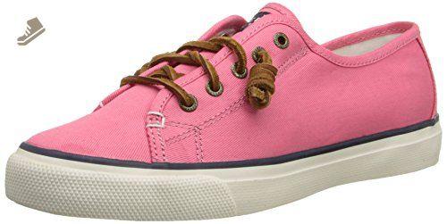 Seacoast Fish Crcle Coral Damen Sneaker, Pink (Pink), 38 EU Sperry Top-Sider