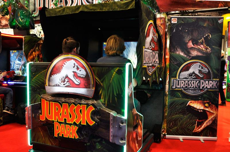 EAG International 2015 - Jurassic Park Arcade Machine