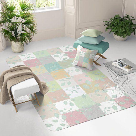 Toddler Rug Nursery Floor Mat Decor Dorm Large Playroom Rugs