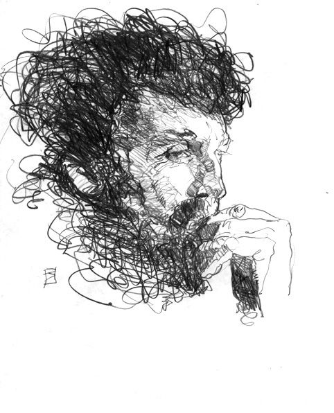 Robert Burns | Portrait drawing, Pencil portrait drawing ...