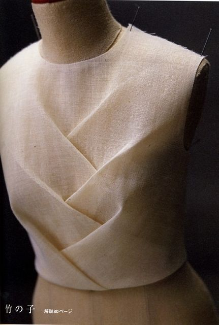 Photo of pattern magic 2 creased bodice
