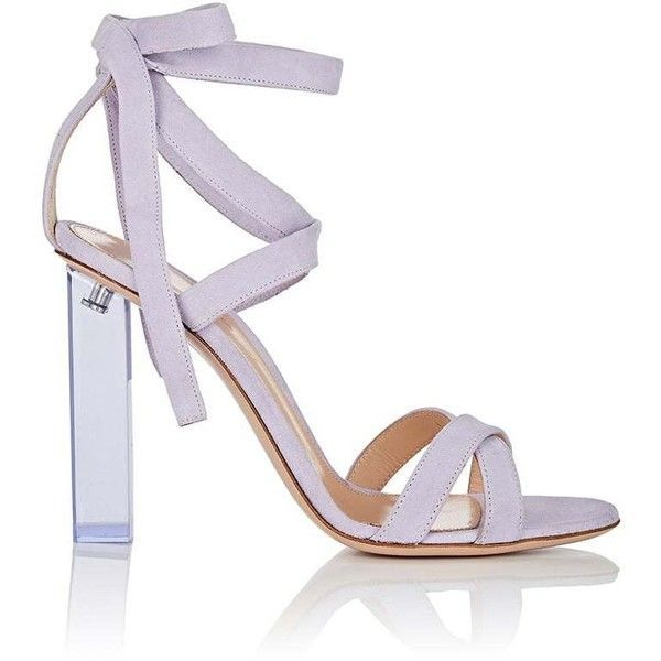 f351e87e951c Gianvito Rossi Women s Suede Ankle-Tie Sandals ( 1