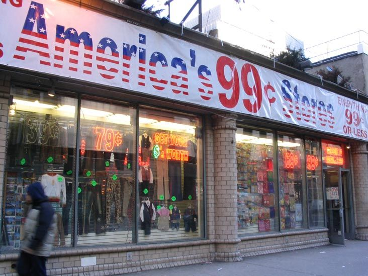 Americas 99 Cent Stores North Side Of 42nd Street Between Sixth And Seventh Avenues Midtown Manhattan