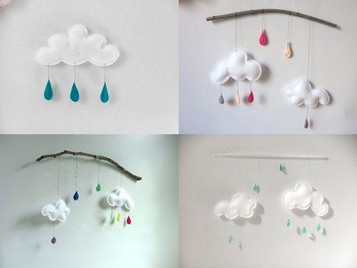 nubes y gotitas de lluvia en la habitacin del beb gotas de lluvia imagenes de google y bsqueda de imgenes