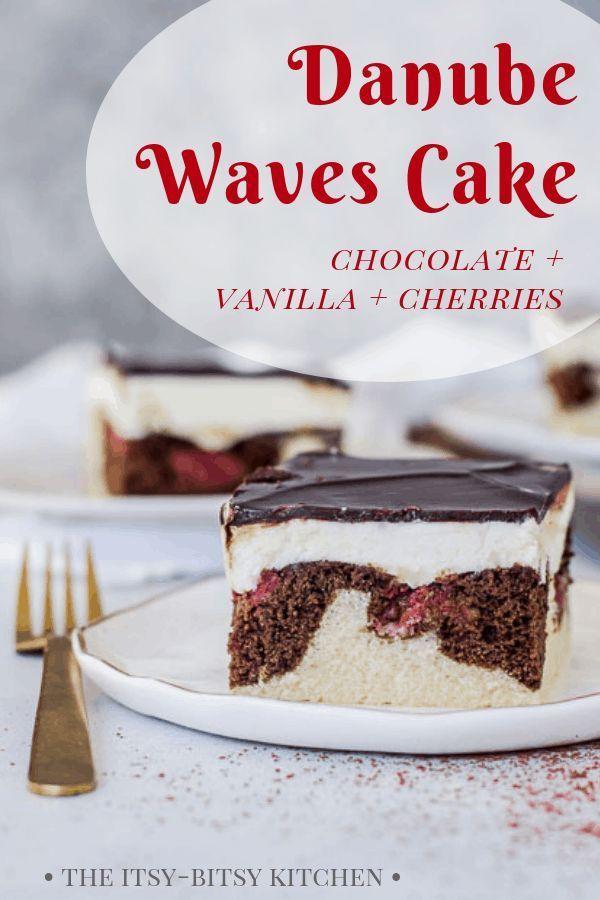 Danube Waves Cake (Donauwellen Kuchen) – #cake #Danube #Donauwellen #Kuchen #Wav…
