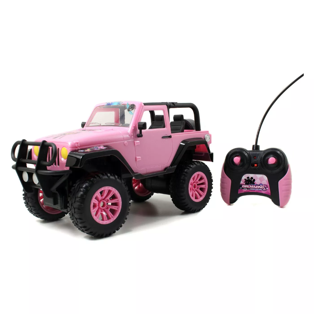 Jada Toys GirlMazing RC 2014 Jeep Wrangler Remote Control