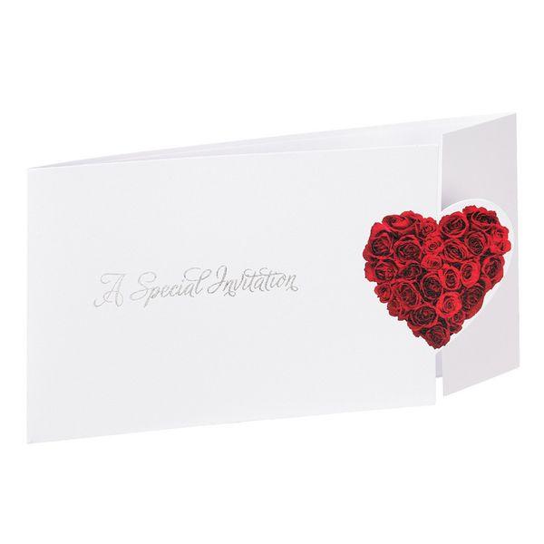 Heart of Rose Wedding Invitation | Wedding Invitations