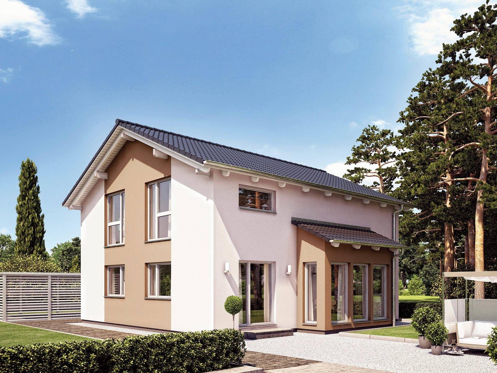 Modernes Einfamilienhaus Satteldach variant 25 166 stadthaus hanse haus modernes einfamilienhaus