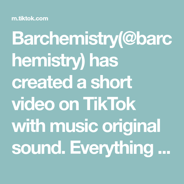 Barchemistry Barchemistry Has Created A Short Video On Tiktok With Music Original Sound Everything Changed Whe One Direction Lyrics The Originals Music Love