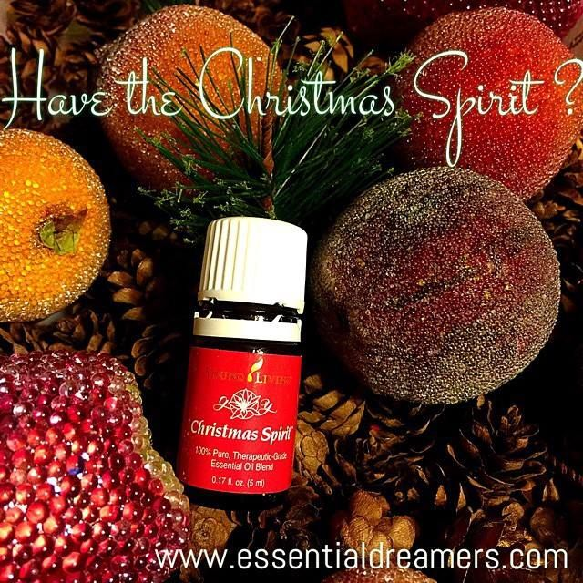 Essential Dreamers - Young Living Christmas Spirit essential oil ...
