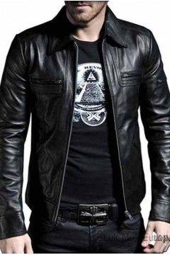 Calidad superior envío gratis comprar online Chaqueta de cuero natural hombre CDC-Spirit | Outfit Dani en ...