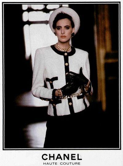 Chanel fashion 80s more mode 80er mode mode und kleider damen - 80er damenmode ...