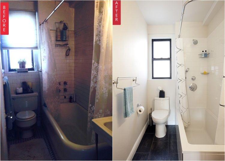 Kleines Badezimmer Mit Badewanne Und Dusche Badezimmer