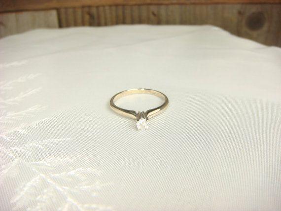 Engagement Ring Solitaire Diamond Ring Diamond Wedding Ring