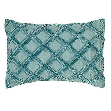 Blue Purple Throw Pillow | Bed Bath & Beyond in 2020 | Blue throw
