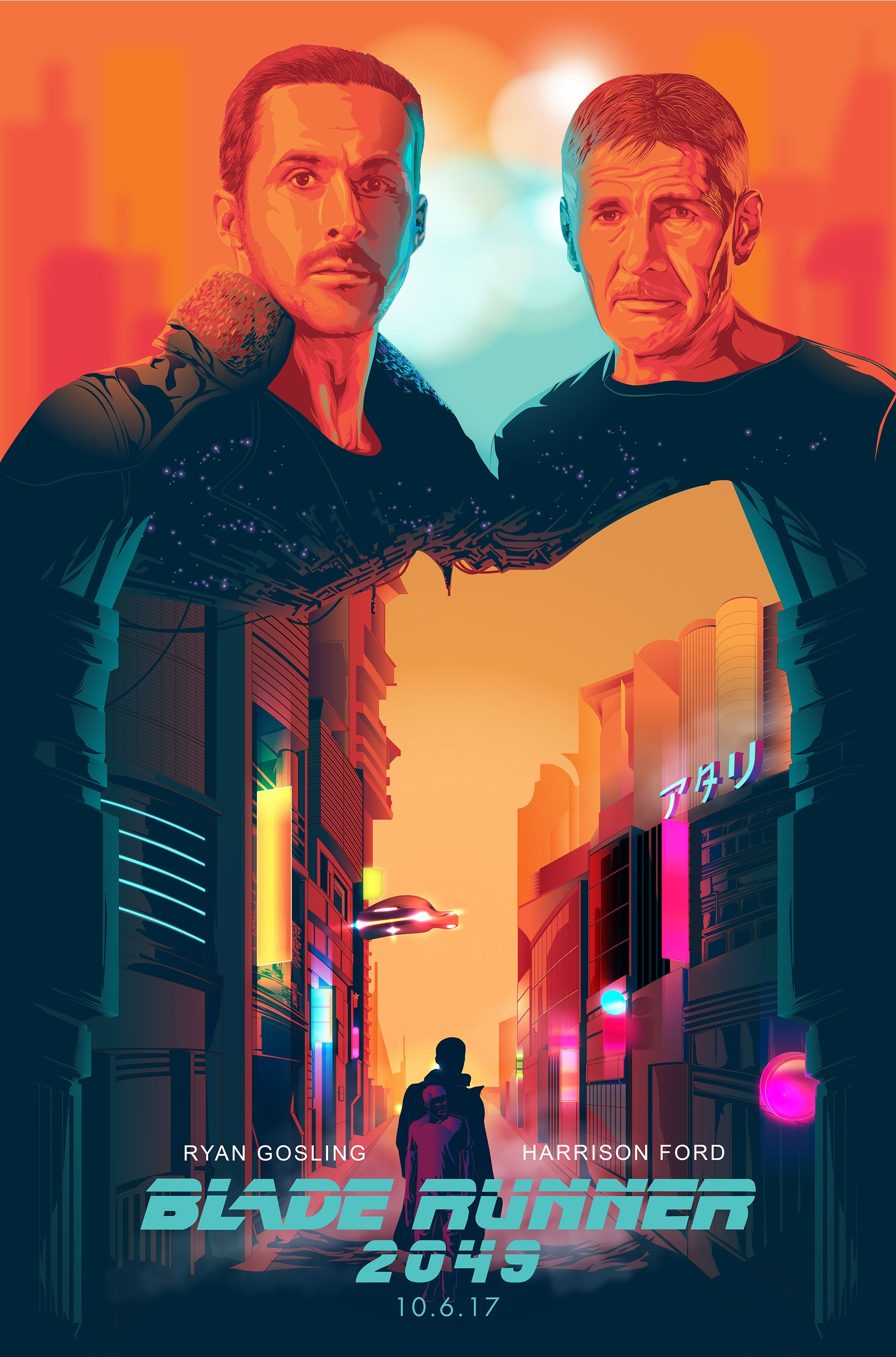 Art Tributes For The Upcoming Blade Runner 2049 Movie Blade Runner Blade Runner 2049 Blade Runner Poster