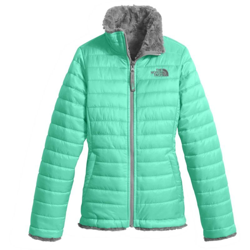 da2f7d532 The North Face Girls' Reversible Mossbud Swirl Insulated Jacket ...
