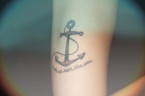 Tattoo Tuesday Anchor Tattoos Tattoos Inspirational Tattoos
