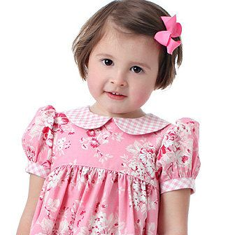 Baby and Toddler Girls dress pattern - Precious Dresses, Classic Bodice Style, Boutique Pattern PDF E-Book